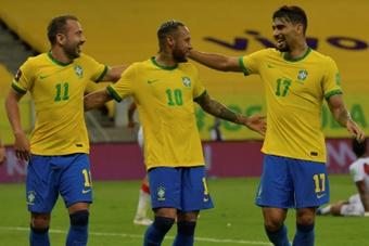 Brasil atropela o Uruguai em casa e vence por 4 a 1. AFP