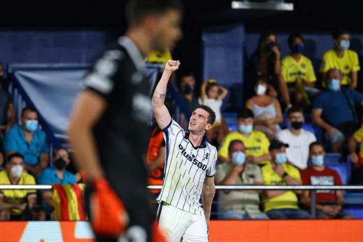 El fantasma del empate también persigue al Villarreal en Champions. AFP