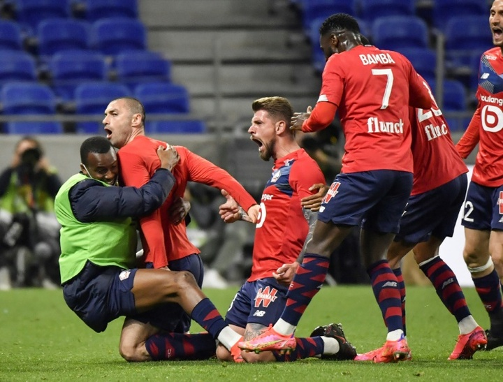 Lille mostra força e recupera a liderança no Francês. AFP