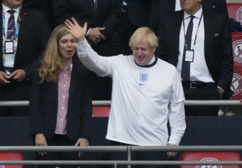 Boris Johnson acusó a los húngaros de racismo. AFP