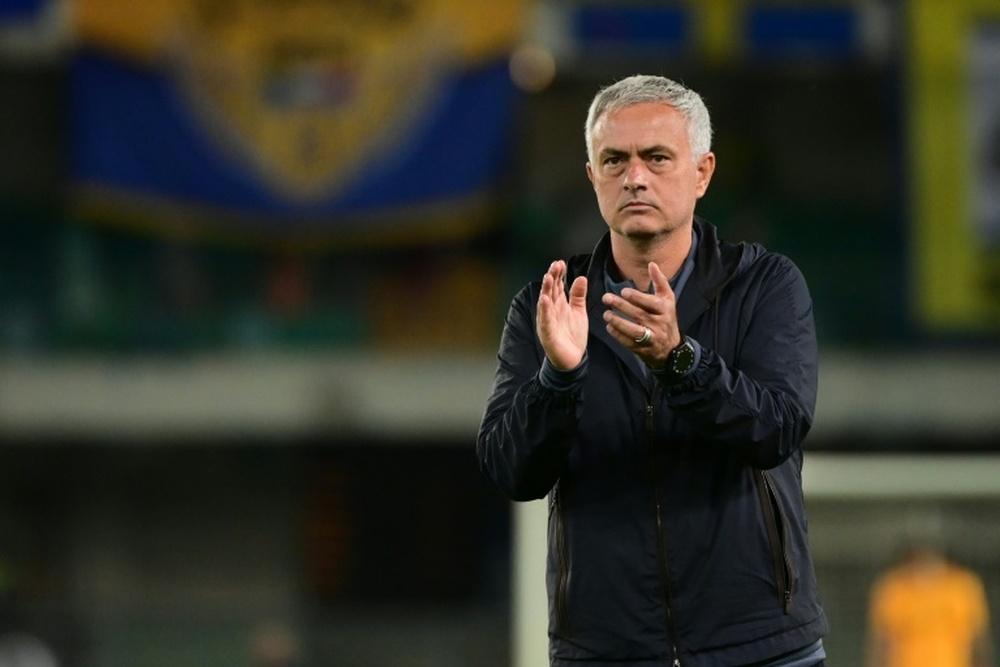 Lingard recordó la buena relación con Mourinho. AFP