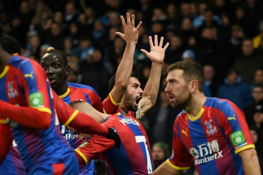Los londinenses del Crystal Palace eliminaron a un equipo de League One. AFP