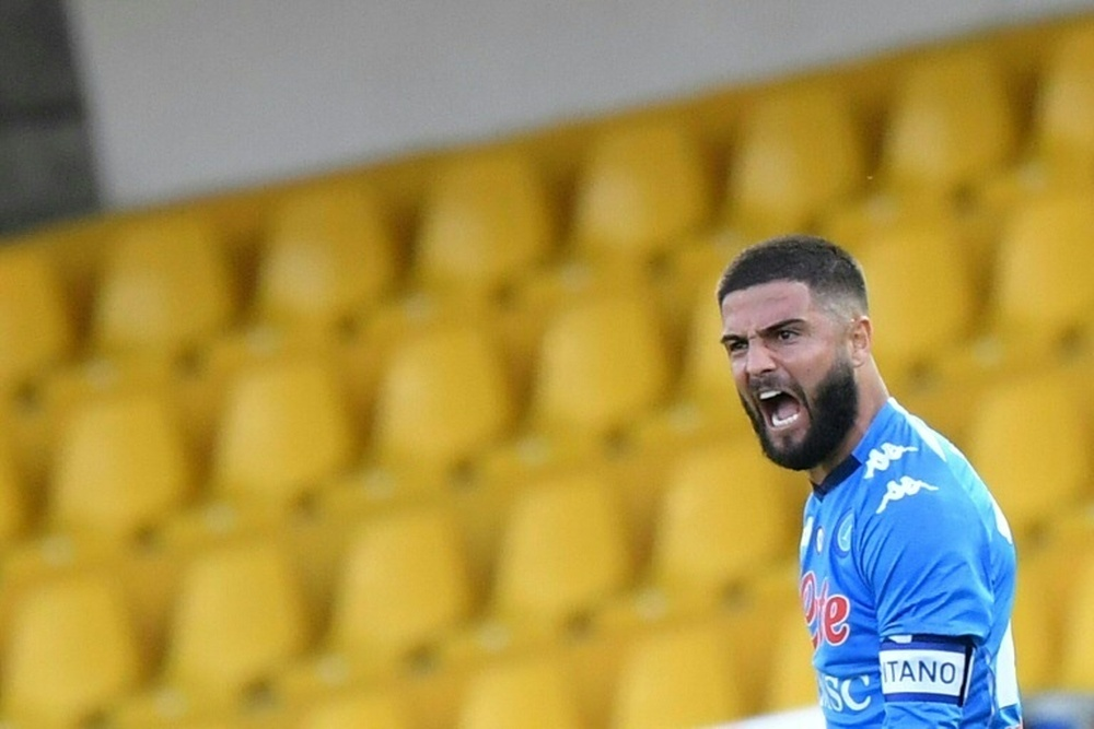 Insigne could leave as a free agent in June 2022. AFP