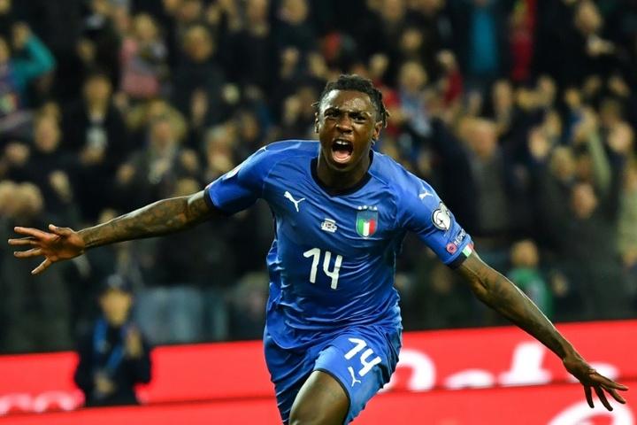Le formazioni ufficiali di Italia-San Marino. AFP
