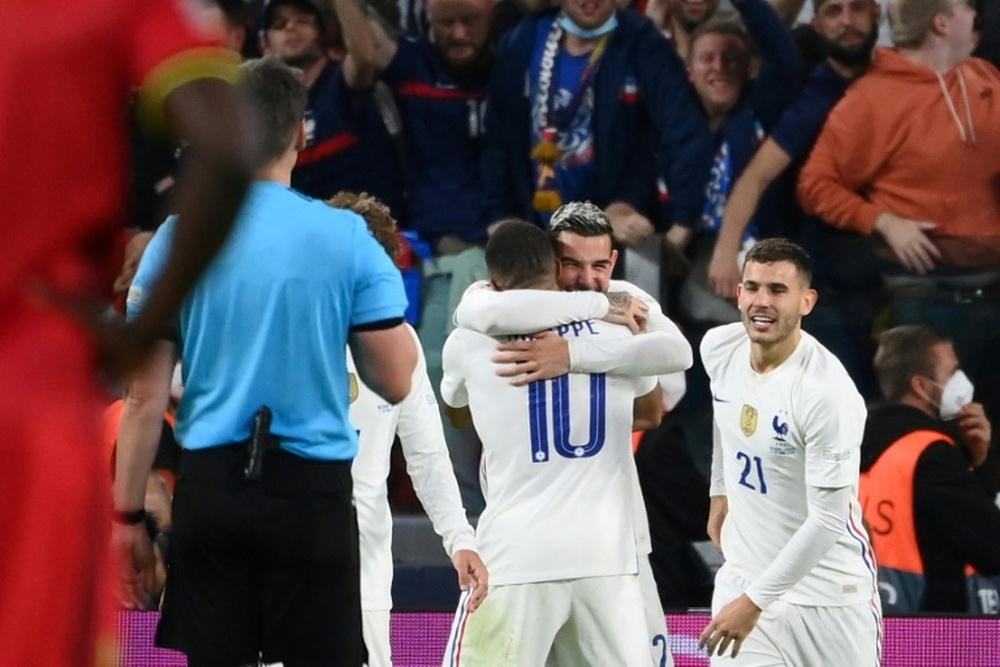 Actualité du jour sur le football français au 10 octobre 2021. afp