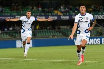L'Inter vince a Verona. AFP