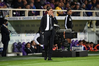 Inzaghi elogió la postura de LaLiga. AFP