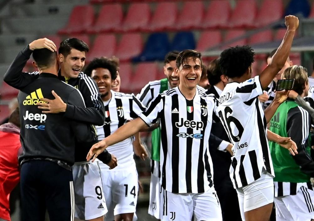 Le formazioni ufficiali di Juventus-Atalanta. AFP