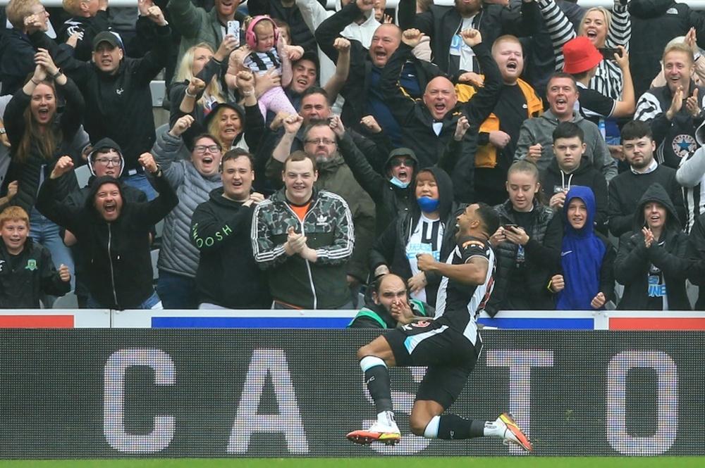 Newcastle sonha alto e quer quatro jogadores do United. AFP