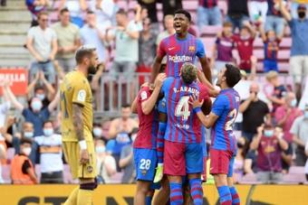 Le Barça veut éviter les problèmes avec la prolongation d'Ansu Fati. afp