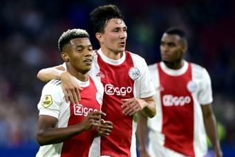 Nova atuação de gala do Ajax e mais três pontos. AFP