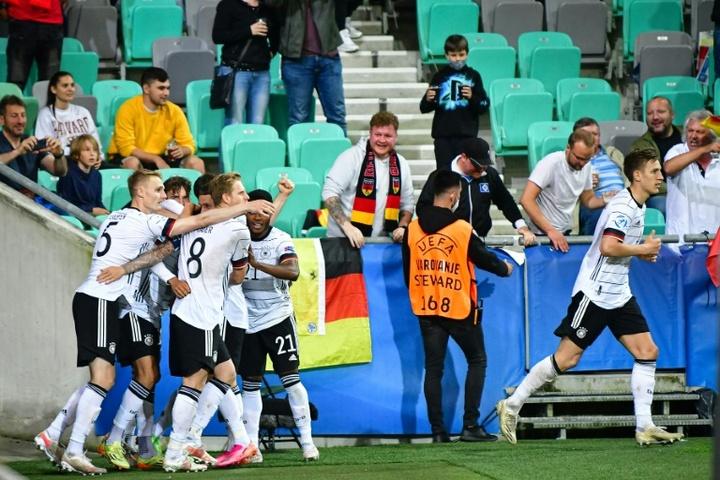 Alemanha bate Portugal e é campeã do Europeu Sub-21. AFP