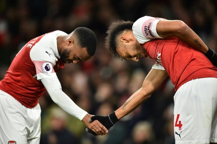 Os craques do Arsenal estão na mira do Barça. AFP