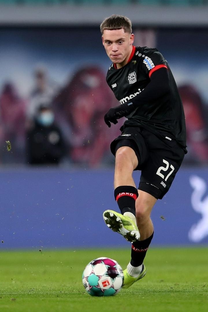 Leverkusen midfielder Florian Wirtz. AFP