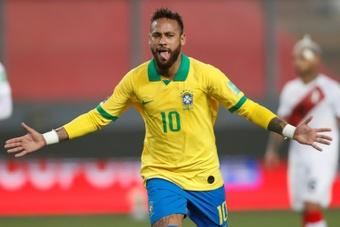 Neymar, a por otro registro de Pelé. AFP