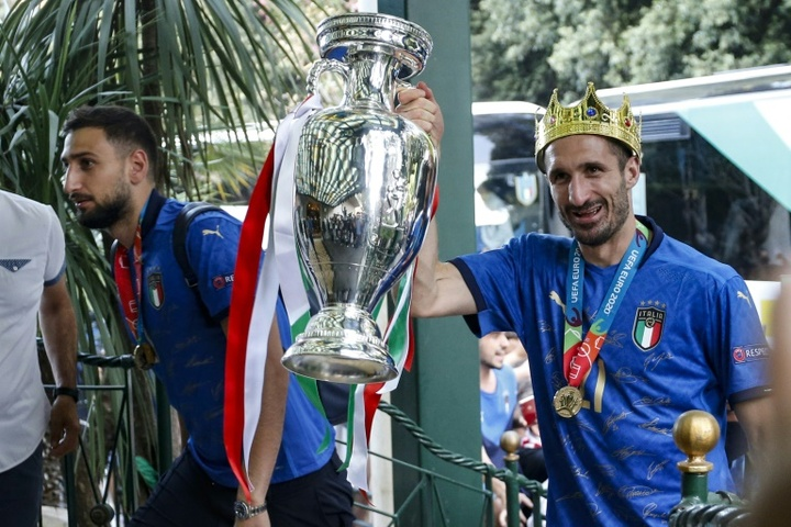 Two Euros champions are out-of-contract. AFP