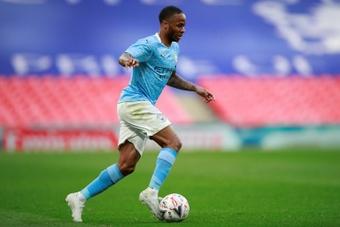 Manchester City's Raheem Sterling. AFP