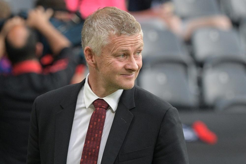 Manchester United manager Ole Gunnar Solskjaer. AFP