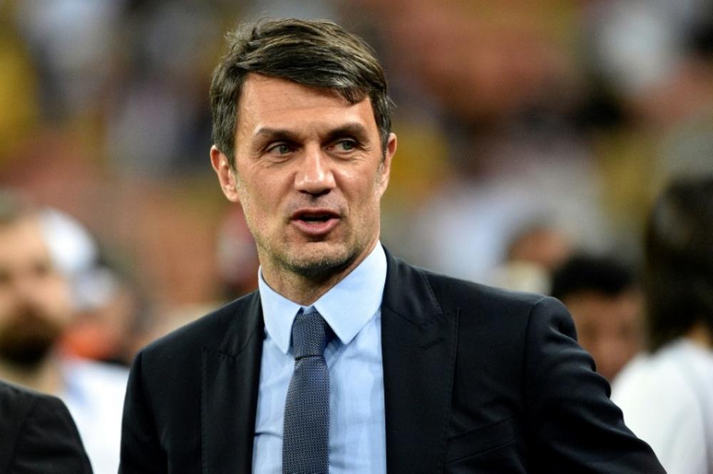 Paolo Maldini se unió al grupo de jugadores que no quieren el Mundial bienal. AFP