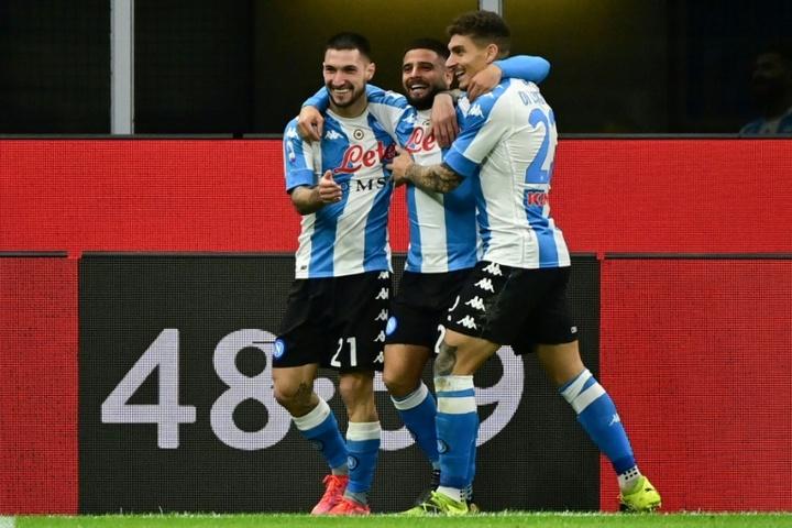 Empate do Napoli bastou para tirar a Juve da Champions. AFP