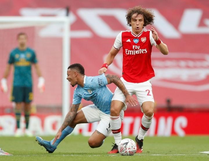 La Lazio pensa a David Luiz. AFP