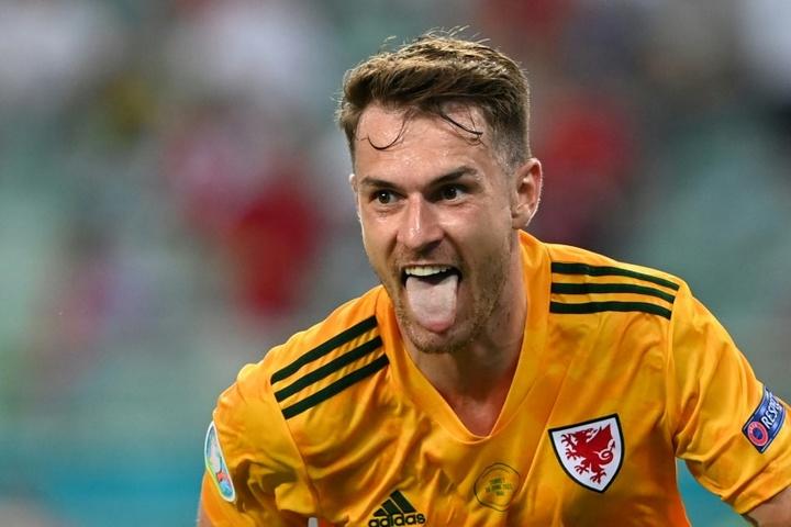 La Juve cherche un nouveau club à Ramsey. AFP