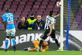 Le formazioni ufficiali di Udinese-Venezia. AFP