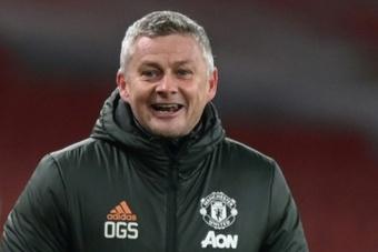 Solskjaer está confiante que continuará no comando do Manchester United. AFP