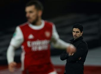 Arteta est revenu les récentes critiques d'Henry. AFP