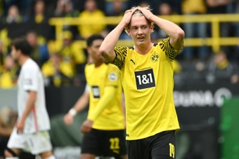 Brandt hizo el gol de la victoria. AFP