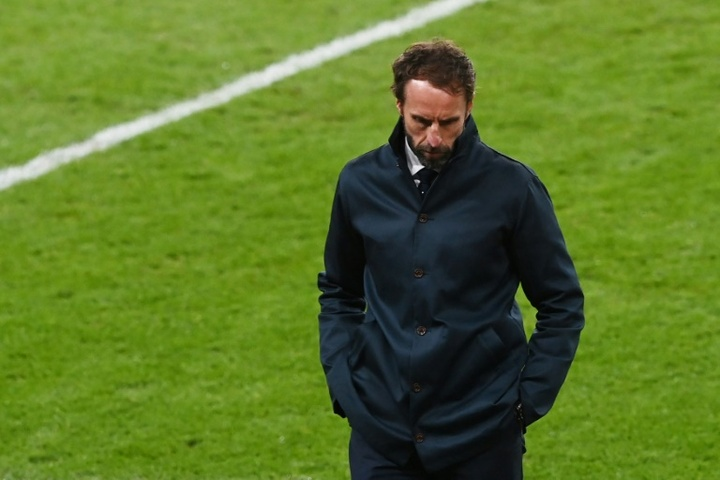 Gareth Southgate has criticised the racist abuse players have received after the shootout loss. AFP