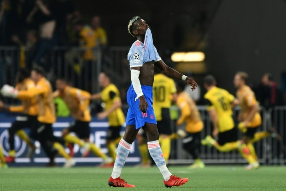 Pogba bien parti pour prolonger. AFP