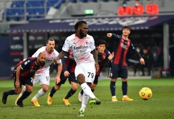 Kessié rechazó una oferta de renovación del Milan. AFP