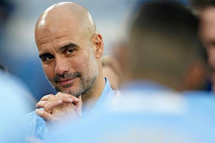 Guardiola quiere a un delantero de la quinta categoría de Inglaterra. AFP
