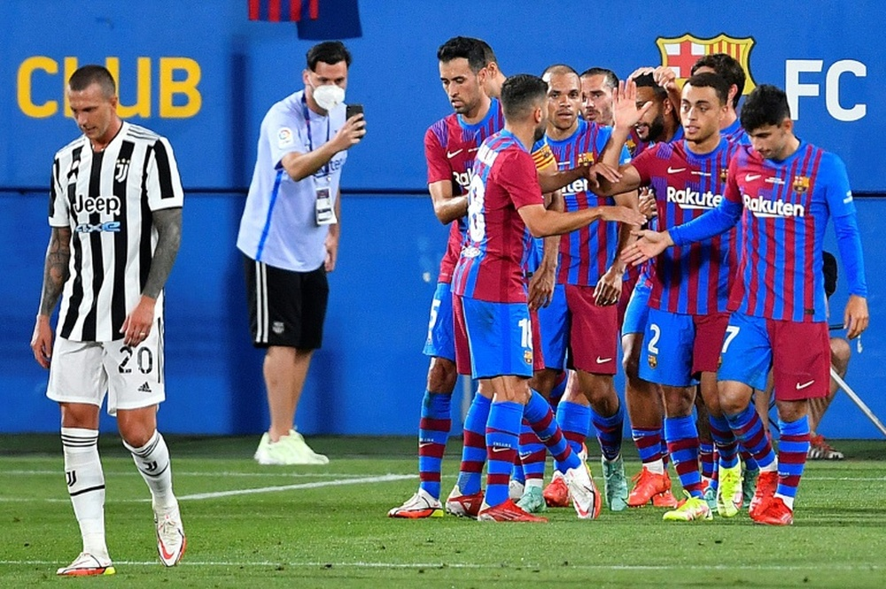 Le Barça va jouer au Johan Cruyff Stadium. AFP
