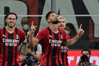 Le duo Giroud-Ibra pourrait débuter contre l'Hellas Vérone. afp