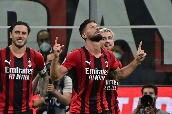 El Milan se impuso con claridad al Cagliari. AFP