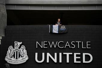 La Premier vota en contra de los patrocinios del nuevo Newcastle. AFP