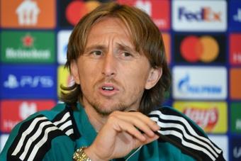 Luka Modric forfait contre Osasuna. afp