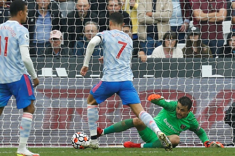 United venceu o West Ham de virada por 2 a 1. AFP