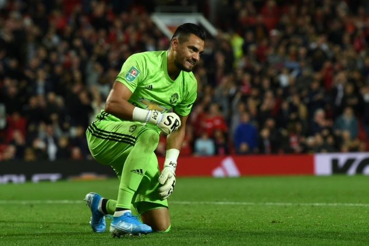Romero could be on his way to Serie A. AFP