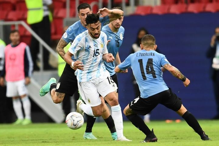Nico González elogió el trabajo de la Selección Argentina. AFP