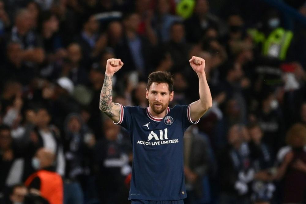 Pastore, convencido de que el PSG era la mejor opción para Messi. AFP