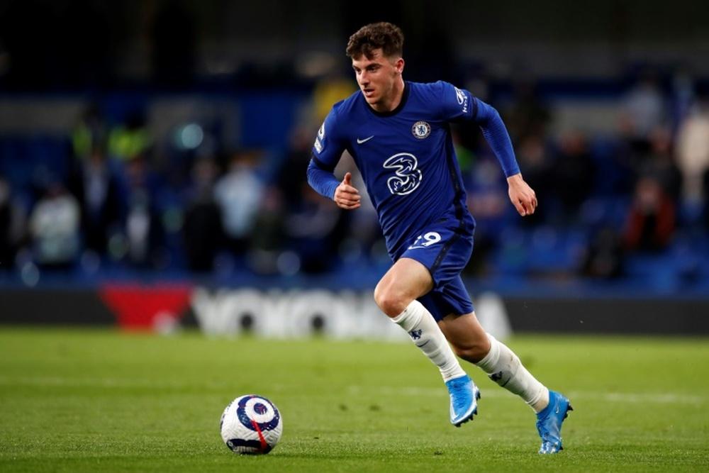 Chelsea midfielder Mason Mount. AFP