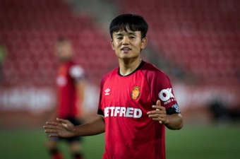 OFFICIAL: Kubo returns to Mallorca on loan