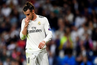Bale rules out the MLS for now. AFP