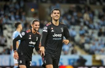 La Juventus veut recruter définitivement Alvaro Morata. afp