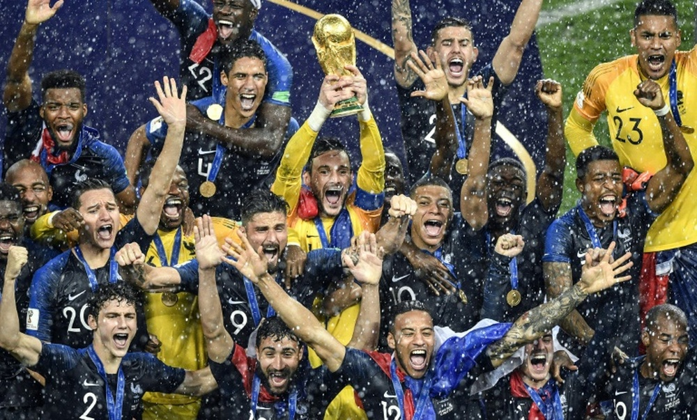 France will be looking to defend their crown in Qatar. AFP