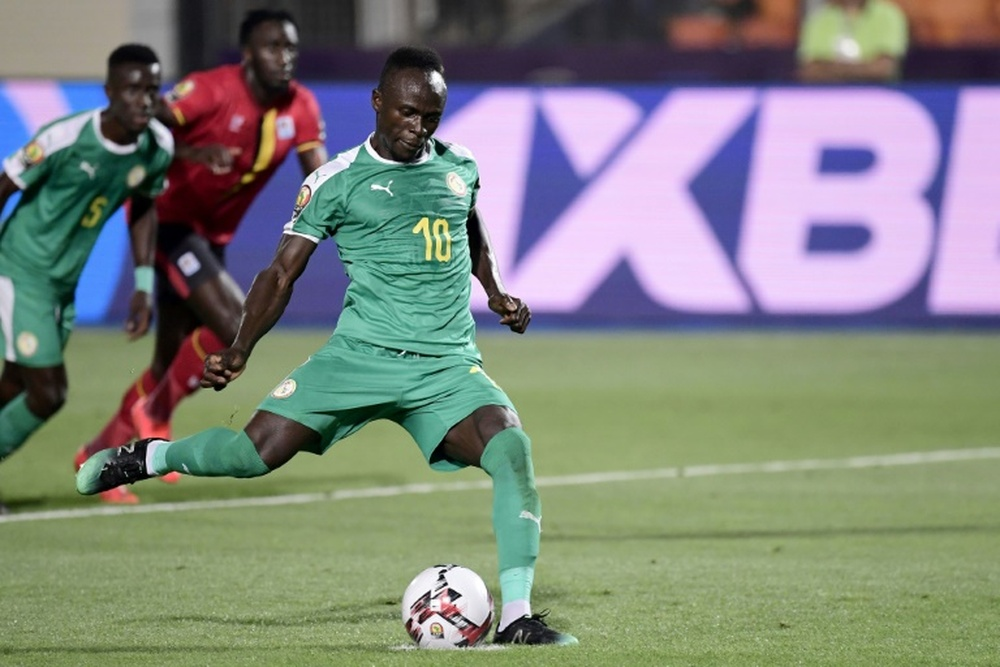 Mané, con dos asistencias, le dio la victoria a Senegal. AFP/Archivo