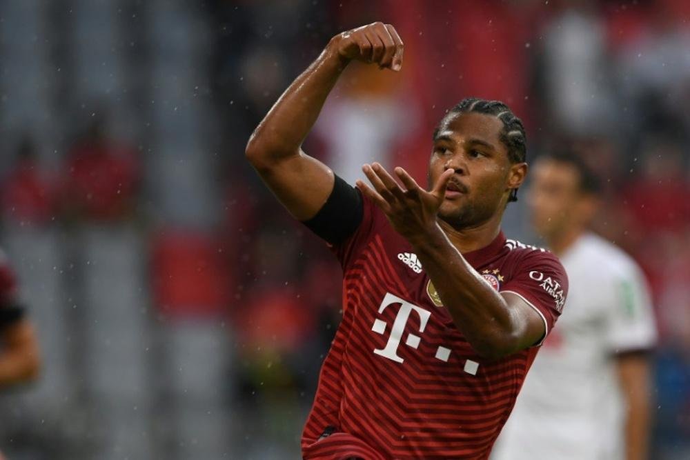 El Bayern derrotó al Köln gracias a Gnabry. AFP